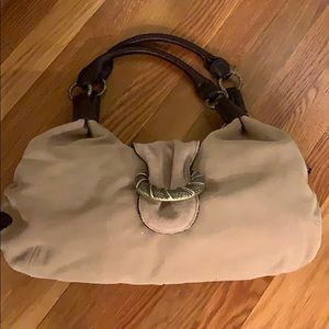 Cole Haan Suede and Leather Purse